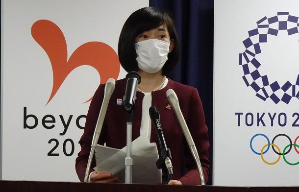 写真・図版 : 丸川珠代東京オリンピック・パラリンピック競技大会担当大臣=2021年5月11日、東京都千代田区