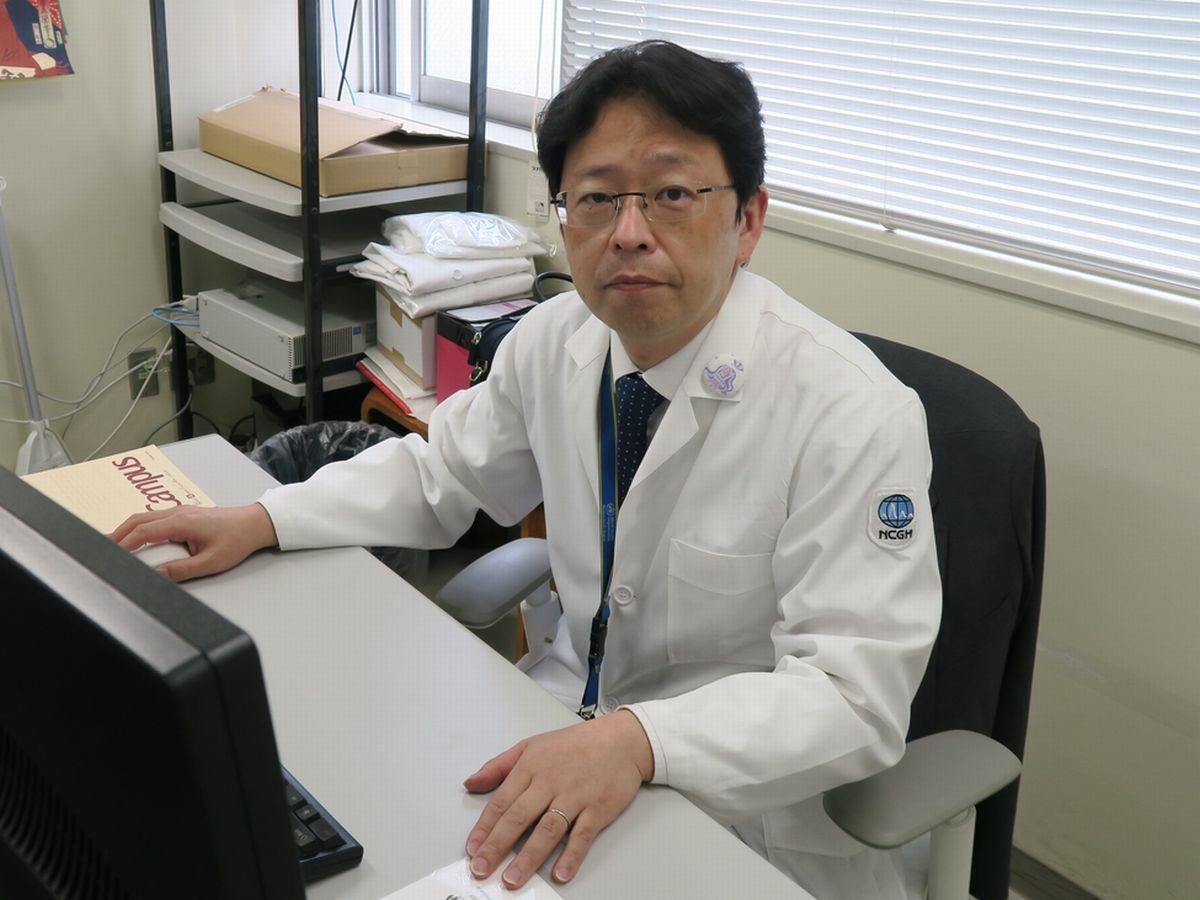 写真・図版 : 国立国際医療研究センターの大曲貴夫・国際感染症センター長