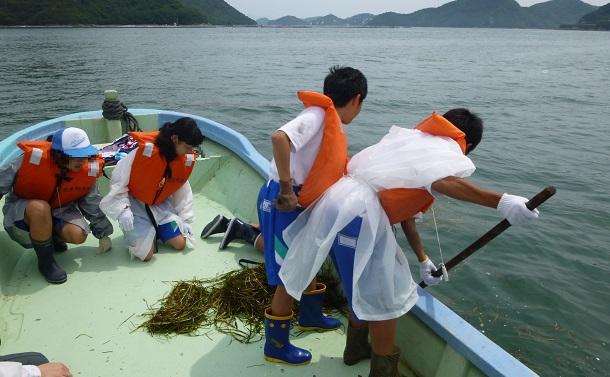 瀬戸内の漁師町の中学校で続くユニークな海洋学習