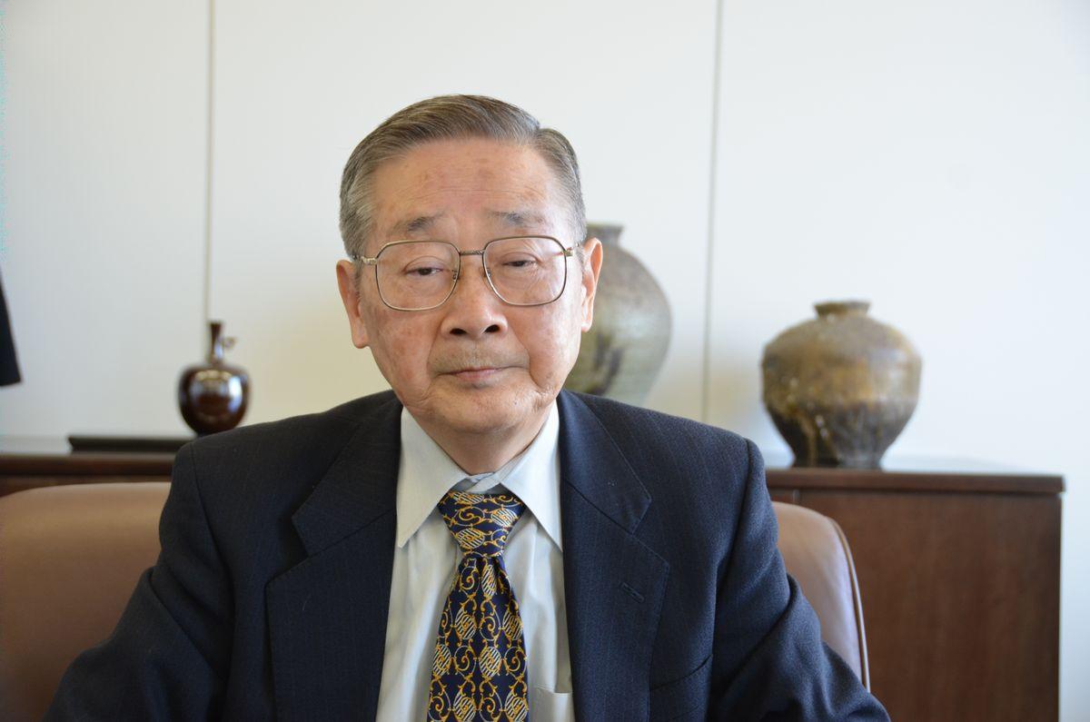 写真・図版 : 斎藤伸三・元日本原子力研究所理事長=2016年1月21日、東京都内で