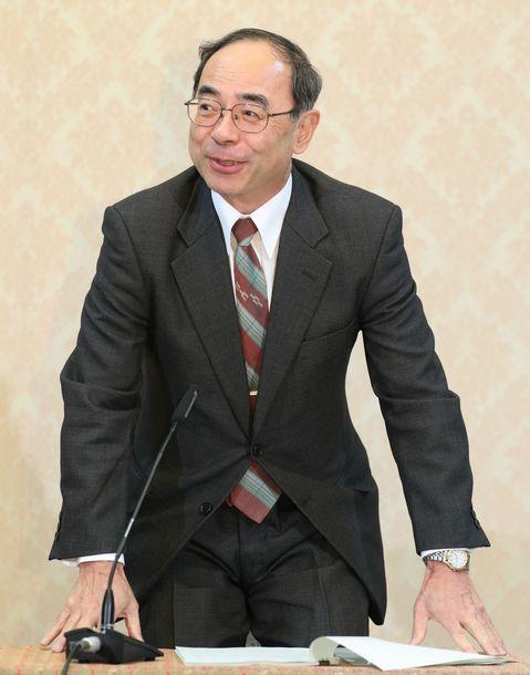宮内庁の西村泰彦長官=2019年12月17日、東京都千代田区