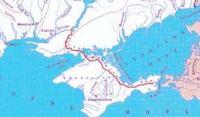 写真・図版 : クリミア北部運河