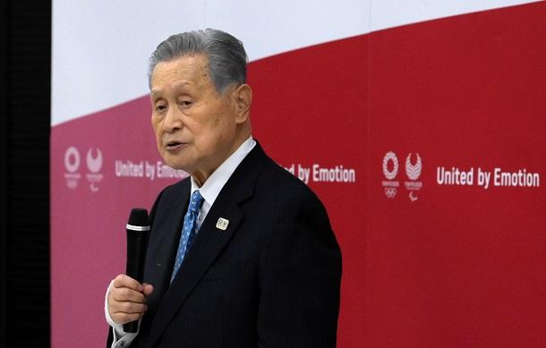 組織委の森喜朗・前会長