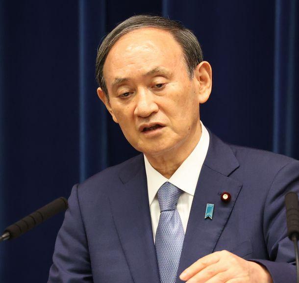 写真・図版 : 菅義偉首相=2021年7月30日、首相官邸