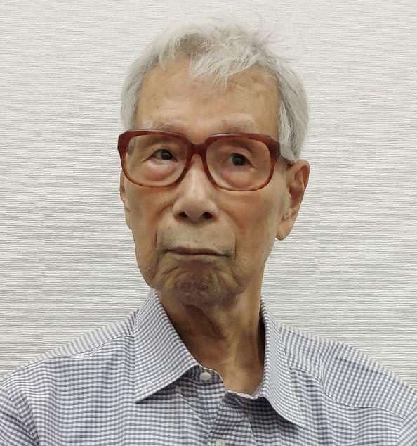 写真・図版 : 武村正義さん=2021年7月21日、東京・築地(撮影・吉田貴文)