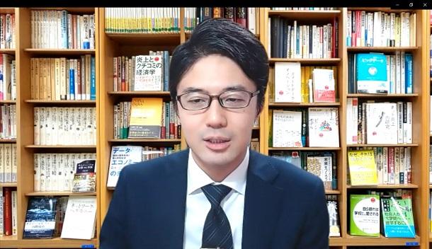山口真一・国際大学GLOCOM准教授、主任研究員