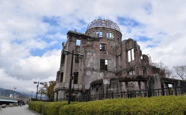 原爆ドーム=2020年3月、広島市中区