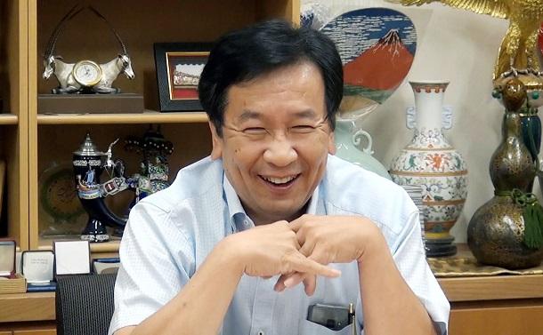 「重すぎる記憶」を持った政治家・枝野幸男との対話