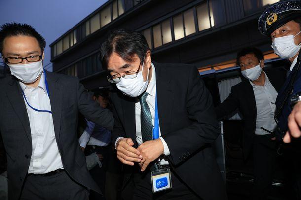 賭けマージャン問題が発覚した黒川弘務・元東京高検検事長(2020年5月)