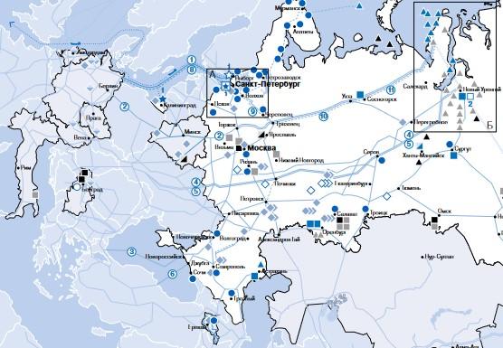 ガスプロムの対欧州PL