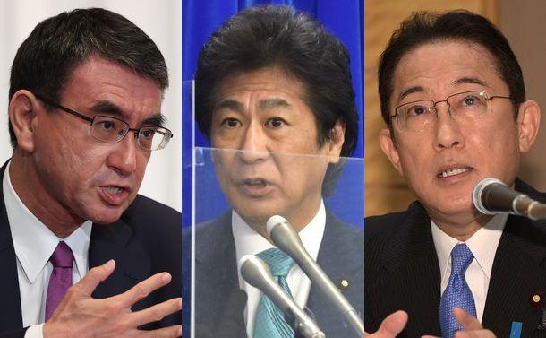 河野太郎、岸田文雄両氏と田村厚労相、3氏の年金改革案を読み解く