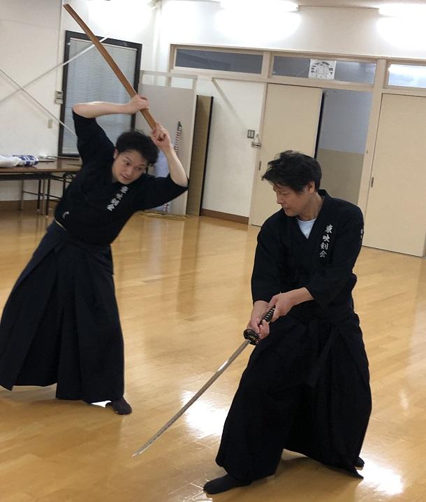 東映剣会の稽古