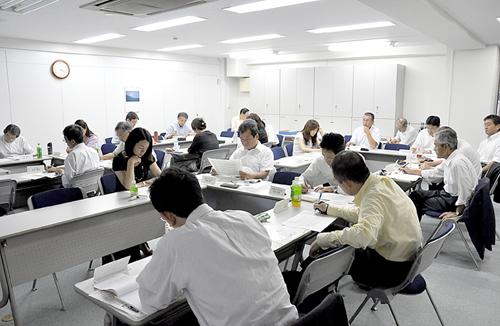 9月16日に開かれたBERCパワーハラスメント研究会