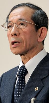 検事総長に就任した笠間治雄氏