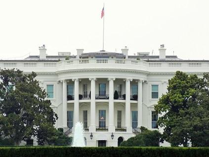 写真・図版 : ホワイトハウス=米ワシントンDCで北島純撮影