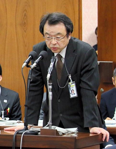 写真・図版 : 林真琴・法務省刑事局長