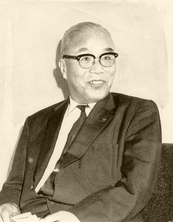 写真・図版 : 太田垣士郎・関西電力会長(1963年当時)