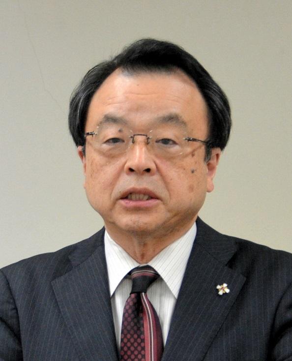 写真・図版 : 林真琴・名古屋高検検事長=2018年1月16日、名古屋市中区の名古屋高検