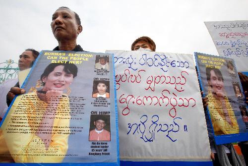 20年ぶりのミャンマー総選挙、スーチー氏解放はあるのか