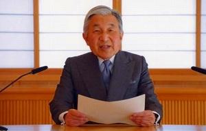 東日本大震災で皇室は