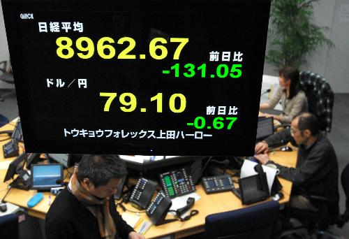 巨大地震・原発事故でなぜ円高なのか