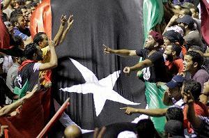 カダフィ政権の崩壊、欧米の思惑