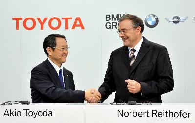 写真・図版:トヨタとBMW、提携拡大の行く先