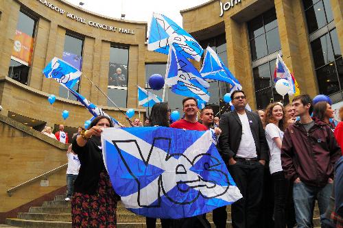 沖縄を刺激したスコットランド独立投票