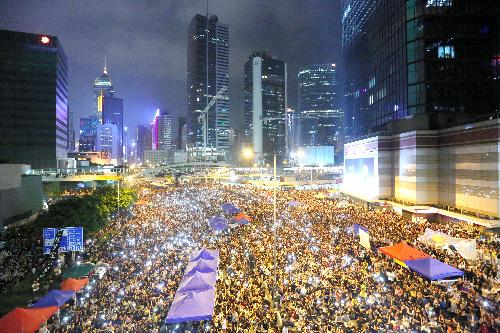 香港「雨傘革命」の結末