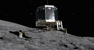 彗星へ世界初の軟着陸